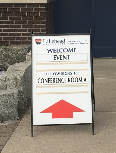 event directional signage in Rocky Mount